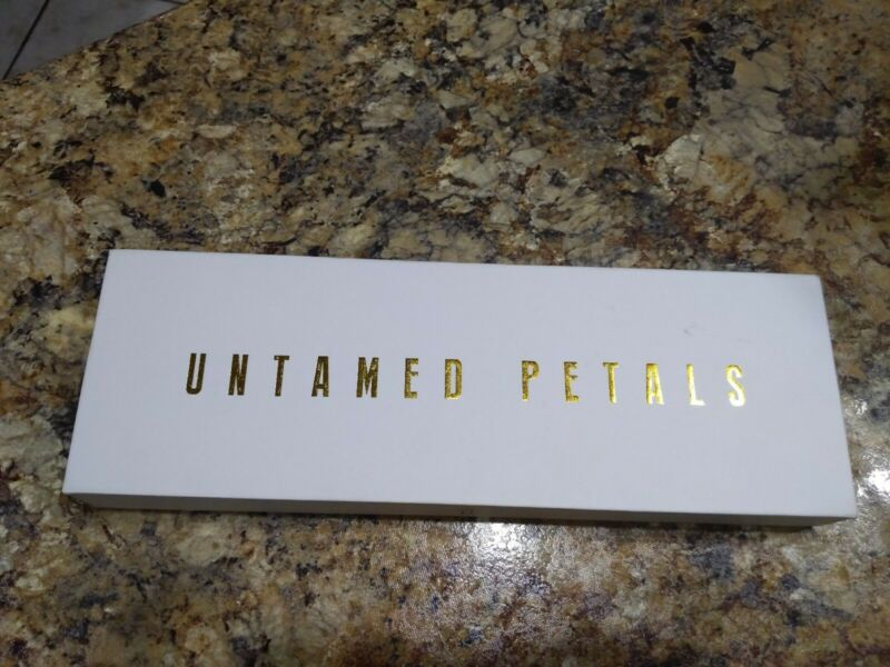 Untamed Petals By Amanda Judge Crystal pearl over flow Silver One Size