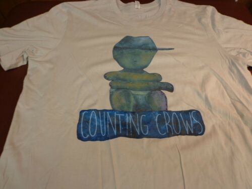 Counting Crows SOMEWHERE UNDER WONDERLAND 2014 Concert Tour  T-Shirt  2XL New Z1