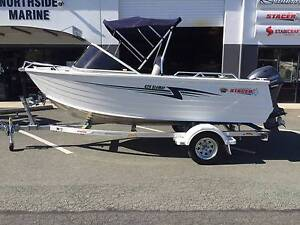 2017 STACER 429 SEAWAY RUNABOUT + YAMAHA F40LA 40HP FOUR STROKE Boondall Brisbane North East Preview