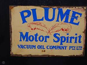 Retro Tin Signs - Petrol & Oil Themes -Golden Fleece,Ampol, Mobil Brisbane City Brisbane North West Preview