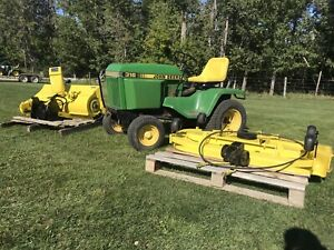 John Deere Snowblower | Kijiji in Alberta  - Buy, Sell