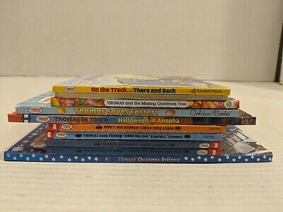 Thomas the Train Books ~Lot of 11 Paperback/ Hardcover Mix with Bonus DVD FS!