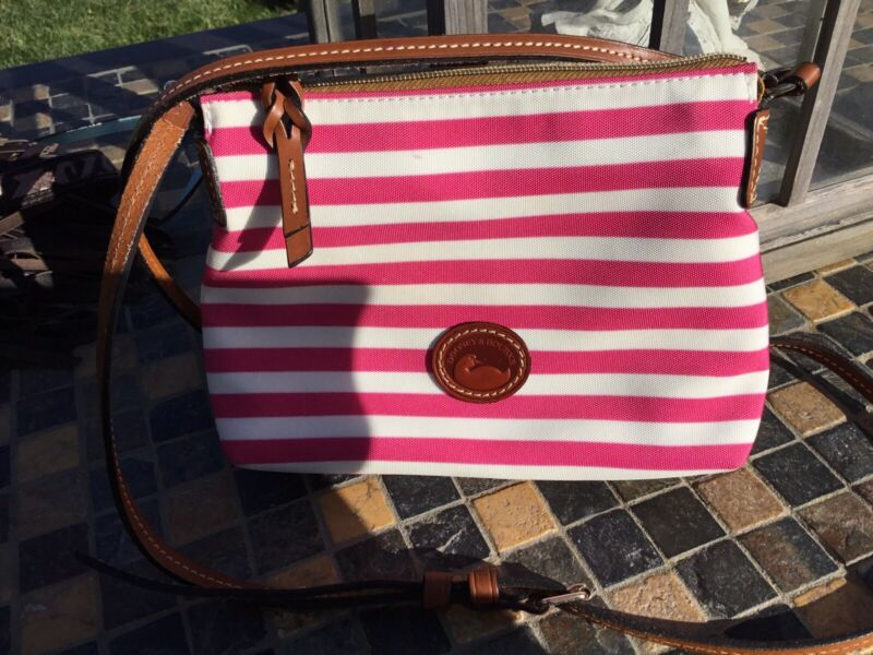 Dooney and Bourke Small Pink Crossbody purse