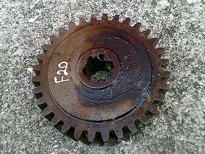 Farmall F20 Tractor Ih Steering Bolster Shaft Main Whole Sector Gear