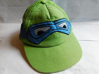 Teenage Mutant Ninja Turtle Leonardo baseball cap with eye mask design 55cm - Ninja Turtle Eye Mask