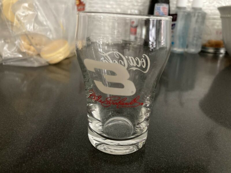 Dale Earnhardt 3oz #3 Coca Cola Glass