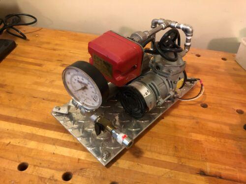 Dry Fire Sprinkler Compressor Gast System Sensor