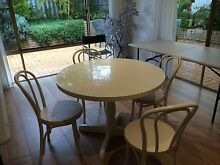 Bentwood chairs and table Alfred Cove Melville Area Preview