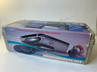 Vintage Dymo 1570 Professional Label Maker Kit