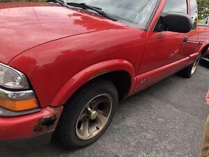 2000 Chevy S10