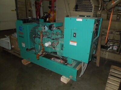 Onan Cummins Generator 35kw 43.8kva 120208-277480v 3ph 120240v 1ph 160 Hours