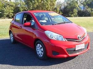 2012 Toyota Yaris Hatchback Bungalow Cairns City Preview