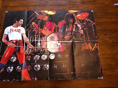 Queen In Concert Poster 1981