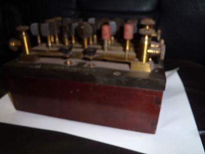 lab.resistance box vintage transmitter W.S. Steljes decade world war submarine?