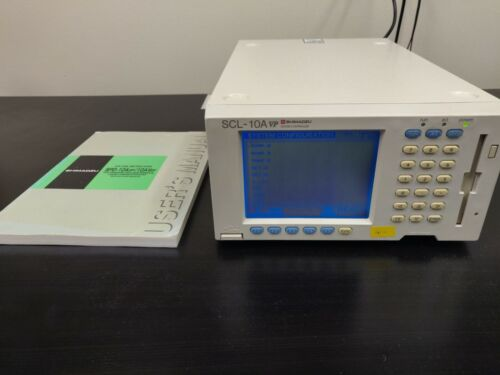 SHIMADZU SCL-10A VP SYSTEM CONTROLLER- CAT # 228-34350-92 w/ Manual FULLY TESTED