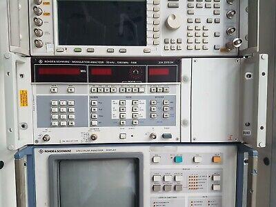 Modulation Analyzer Rohde Schwarz Rs Fam 55 Khz Bis 1360 Mhz