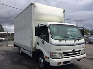 Hino Hybrid Diesel 300 2011 Refrigerated Truck Capalaba Brisbane South East Preview