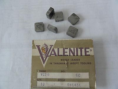 Valenite Milling Inserts Snc43l