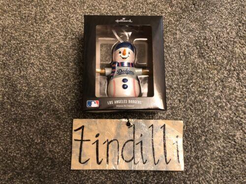 NEW Hallmark Los Angeles Dodgers Snowman Christmas Ornament