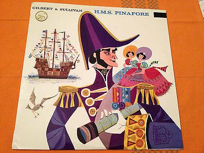 H M S  Pinafore   Gilbert   Sullivan   George Baker   Orig 1961 Aus Lp Wrc  Nm