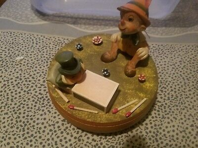 Vintage anri music box Give a little Whistle.