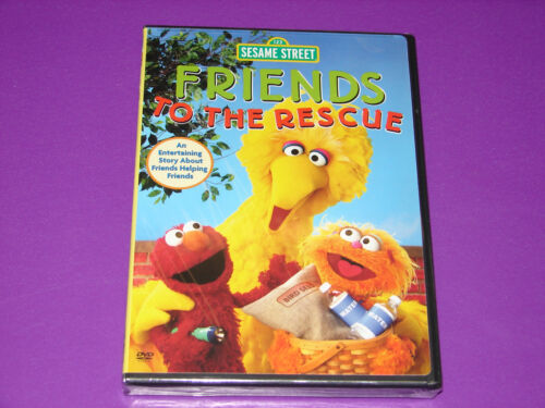 Sesame Street - Friends To The Rescue (dvd, 2005)  ***new Sealed***