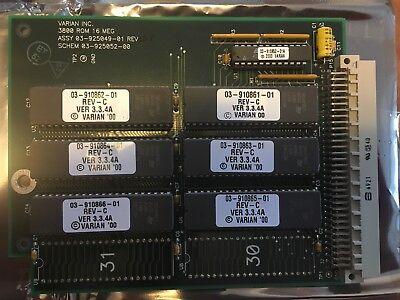 Used Varian Agilent Bruker 3800gc Rom Pwa V3.3.4a