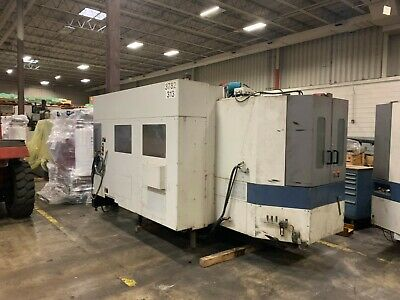 Used 20002001 Mori Seiki Sh-400 Horizontal Machining Center Good Condition