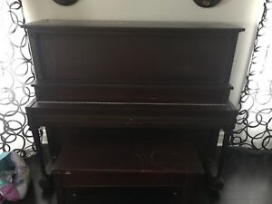 Mason and ritch piano