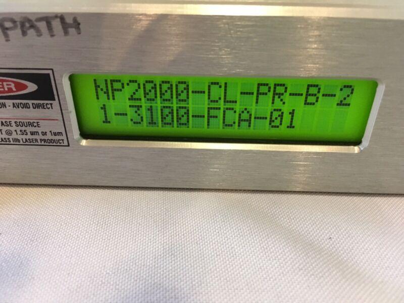 Nuphoton NP2000CL Erbium Doped Amplfier. —no Key