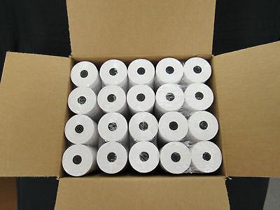 44 Mm X 150 Cash Register 1 Ply Bond Printer Pos Paper Roll 100 Rolls Case