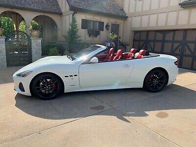 2018 Maserati Gran Turismo  2018 Maserati GranTurmiso Sport Convertible Like New