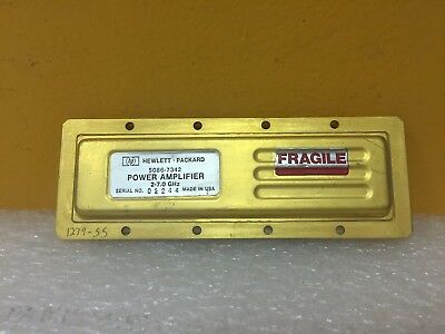 Hp Agilent 5086-7342 2.0 To 7.0 Ghz Sma F-f Power Amplifier
