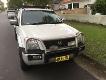 Holden rodeo 4wd ute 2003 Canterbury Canterbury Area Preview