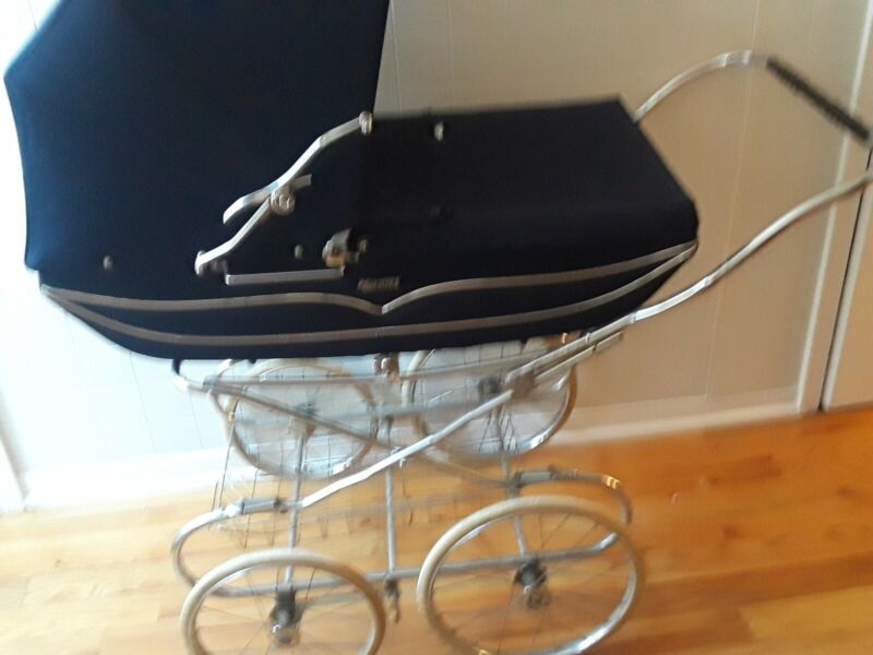NEW !!  VTG Marmet (ENGLAND) S Baby Carriage Stroller