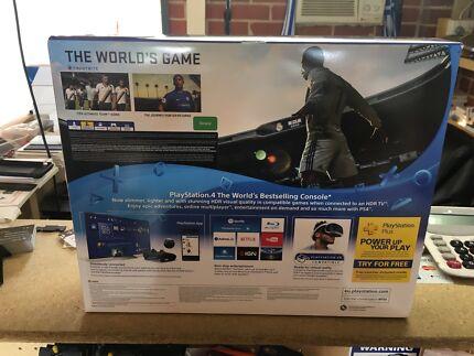 PlayStation 4 1TB brand new sealed plus fifa 2018