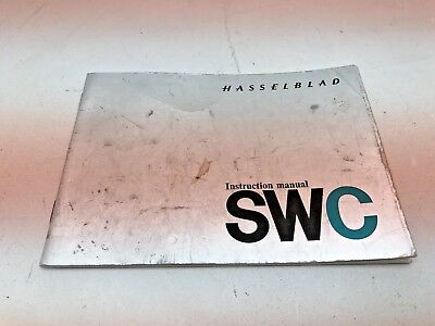 Hasselblad SWC instruction manual