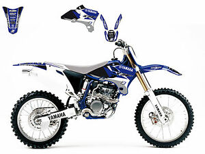 Blackbird Graphics Decal Kit Yamaha YZF 250 450 2003 2005 YZ250F YZ450F
