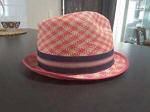 Genuine Panama hat bought in Cuenca Ecuador, gorgeous pink Bethania Logan Area Preview