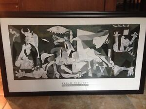 Pablo Picasso framed posted