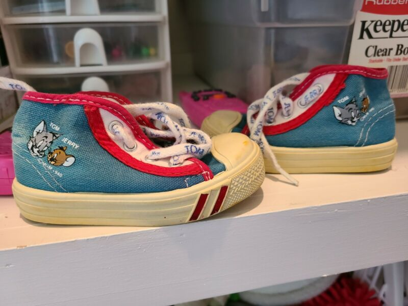 Tom And Jerry Shoes Vintage Baby
