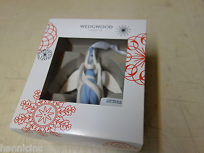 Wedgwood Angel with Star Christmas Ornament, Blue * NEW * Buy 3 - Get 1 FREE