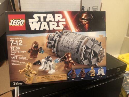 75168 R2 D2 R2D2 75136-75159 Star Wars LEGO Droid Escape Pod