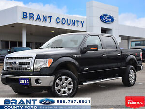 2014 Ford F-150 XTR CHROME WHEELS LEATHER CONSOLE