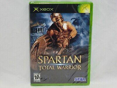 NEW Spartan Total Warrior XBox Game SEALED Sega Original X Box US NTSC (Read)