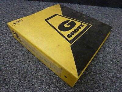 Grove Model Rt865 Rough Terrain Crane Shop Service Repair Manual