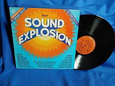 Sound Explosion LP Ronco Records R-1976 Hot Chocolate ABBA 70s Disco Soft Rock