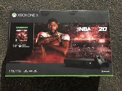 New Xbox One X 1TB Console – NBA 2K20 Special Edition Bundle