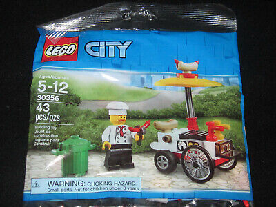 Lego City 30356 Hot Dog Cart Poly Bag Birthday BUY MORE & SAVE