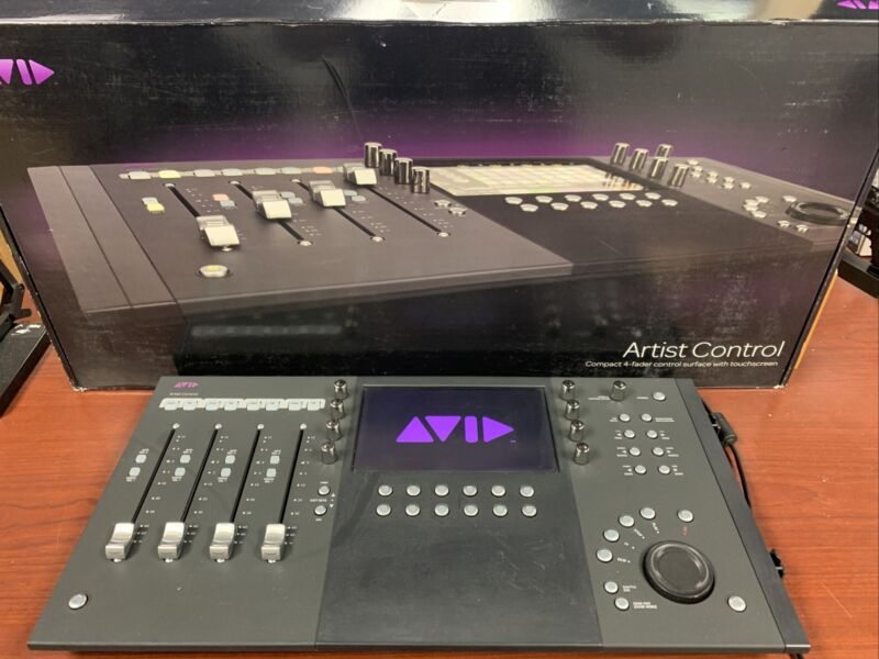 Avid Artist Control 4 Channel Control Surface with Touchscreen - Free Shipping!